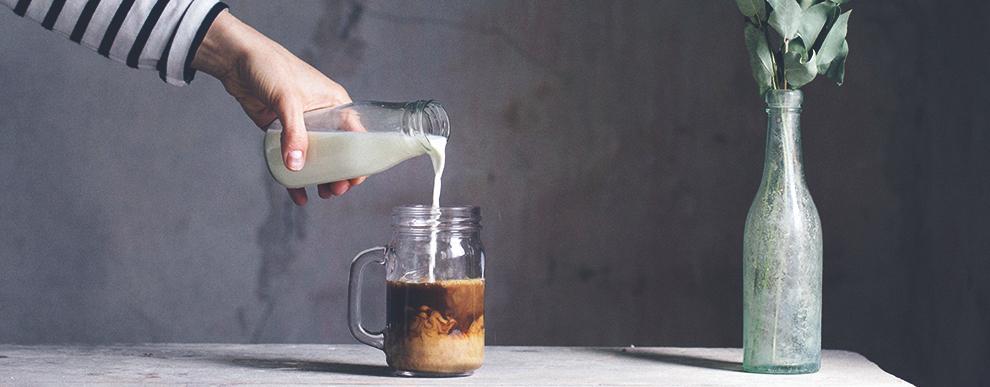 Mjölkfri dryck