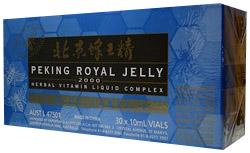 Royal Jelly Peking Royal Jelly bidrottninggelé, 2000mg / 30 ampuller