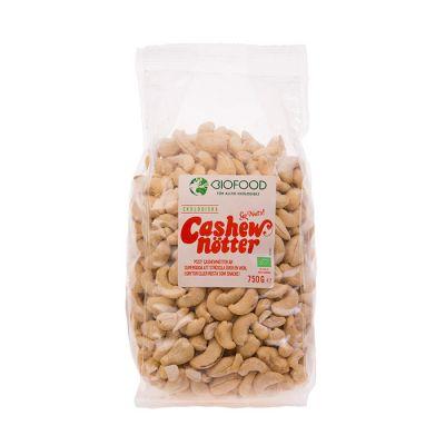 Biofood Cashewnotter hela – Ekologiska Cashewnotter
