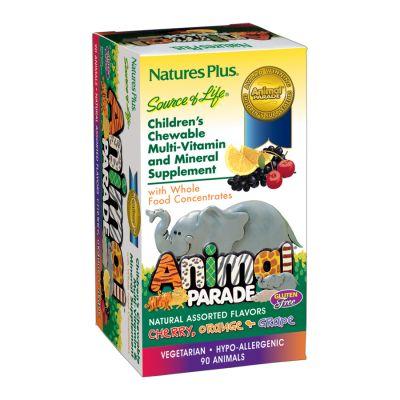 Animal Parade Multivitamin Barn 180 tabletter   Happy Green