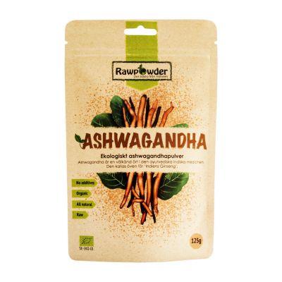 Ashwagandha, 125g pulver ekologisk