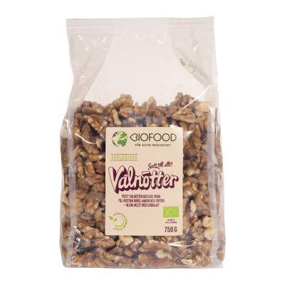 Valnötter halvor, 750g ekologisk