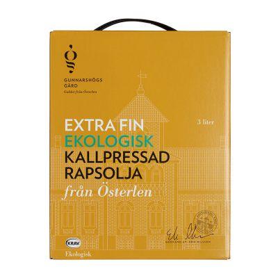 Gunnarshögs Gård Extra Fin Kallpressad Rapsolja