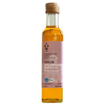 Extra Fin Smaksatt Rapsolja Vitlök, 250 ml ekologisk