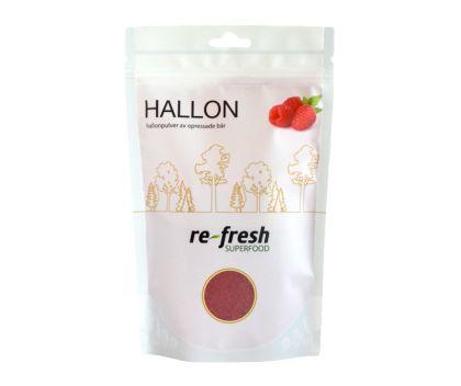Re-fresh superfood Hallonpulver, 125g