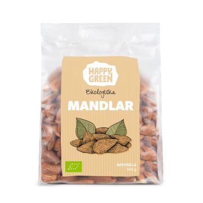 Happy Green Mandlar, 500g ekologisk