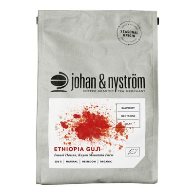 Johan & Nyström Ethiopia Guji Hela Bönor – Ekologiskt Kaffe