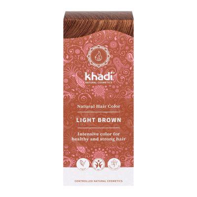 Khadi Ljusbrun – naturlig hårfärg