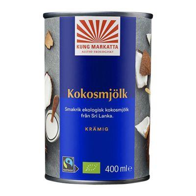 Kokosmjölk, 400ml ekologisk