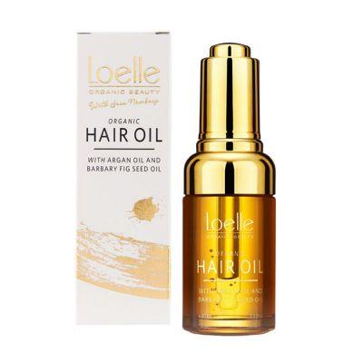 Loelle Barbary Hair Oil – Ekologisk hårolja