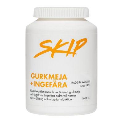 Köp Skip Gurkmeja + Ingefära 100 tabletter på happygreen.se