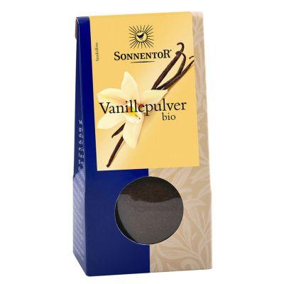 Sonnentor Vaniljpulver – Ekologiskt vaniljpulver
