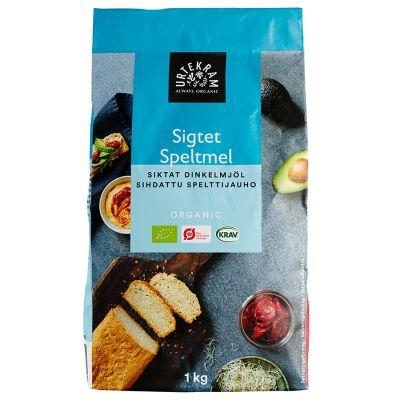 Köp Urtekram Dinkelmjöl Siktat 1kg Eko på happygreen.se