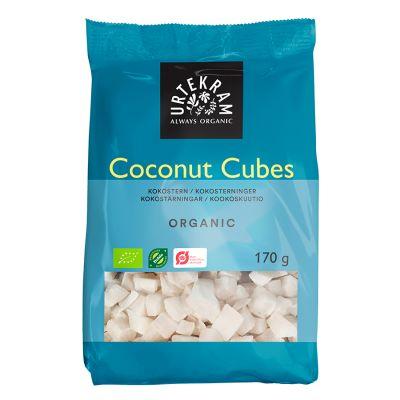 urtekram kokostarningar 170g ekologisk