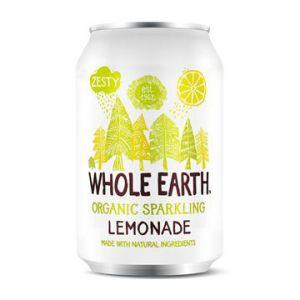 whole earth organic sparkling lemonade 33cl ekologisk