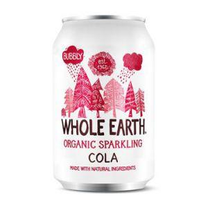 whole earth organic sparkling cola 33cl ekologisk