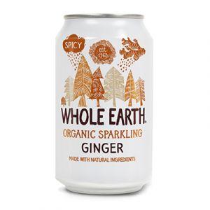 Whole Earth Organic Sparkling GInger, 33cl ekologisk