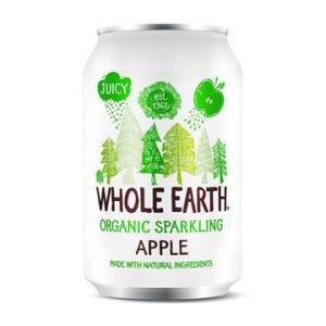 whole earth sparkling organic apple 33cl ekologisk