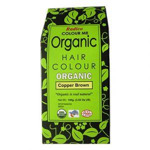 Colour Me Organic Copper Brown hårfärg, 100g ekologisk