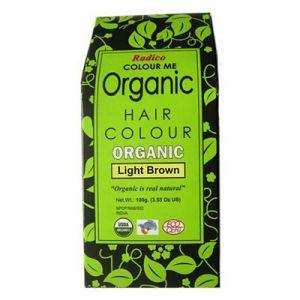 Colour Me Organic Light Brown hårfärg, 100g ekologisk