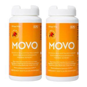 MOVO Original GOPO-nypon, 2 x 190 kapslar