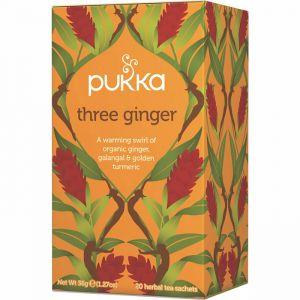 Three Ginger, 20 tepåsar ekologisk