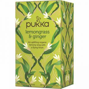 Lemongrass & Ginger, 20 tepåsar ekologisk