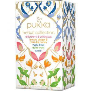 Pukka Herbal Collection, 20 tepåsar ekologisk