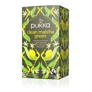 Clean Matcha Green, 20 tepåsar ekologisk