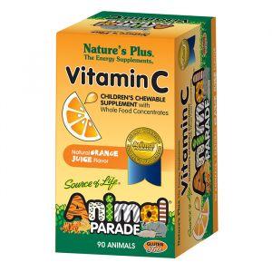 Animal parade c-vitamin 90-tabletter
