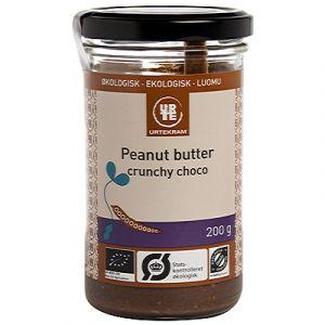 Urtekram Peanut Butter Crunchy Chocolate - Fullproppad med proteiner