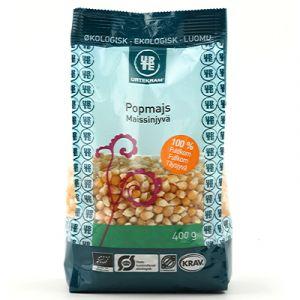 Popcorn Popmajs, 400g ekologisk