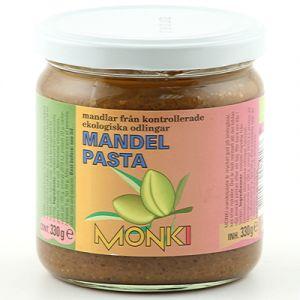 monki mandelsmor 330g ekologisk