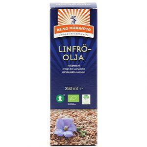 kung markatta linfroolja 250ml ekologisk