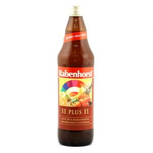 rabenhorst 11 plus 11 fruktjuice 750ml