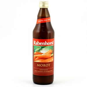 rabenhorst morotsjuice 750ml ekologisk