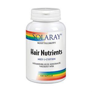 solaray hair nutrients 120 kapslar