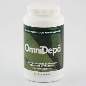 svenska bioteket omnidepa 180 tabletter