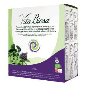 vita biosa aronia dryck med mjolksyrabakterier 3l ekologisk