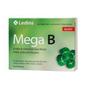 Mega B, 60 tabletter