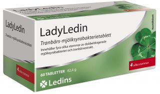 ledins ladyledin 60 tabletter