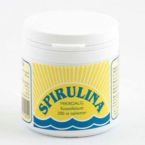 Spirulina, 200 tabletter