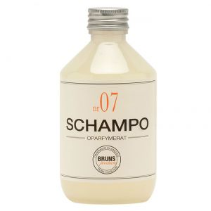 Schampo nr. 7 Oparfymerad, 330 ml