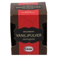 Bourbon Vaniljpulver, 10g ekologisk