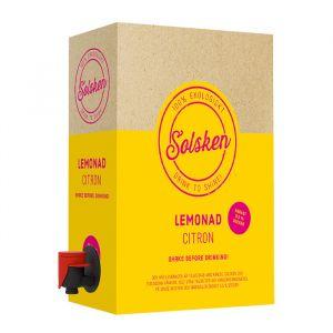 Solsken Citron Lemonad 3l bag in box – 100% ekologiskt lemonad