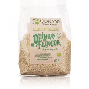 biofood quinoaflingor 250g ekologisk