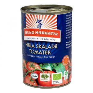 Hela skalade tomater, 400g ekologisk