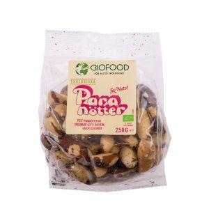 biofood paranotter 250g ekologisk