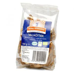 Valnötter halvor, 100g ekologisk