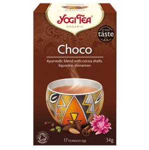 Choco, 17 tepåsar KRAV ekologisk